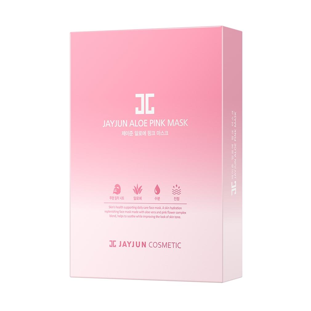 제이준코스메틱 알로에 핑크 마스크팩, 1개입, 10개