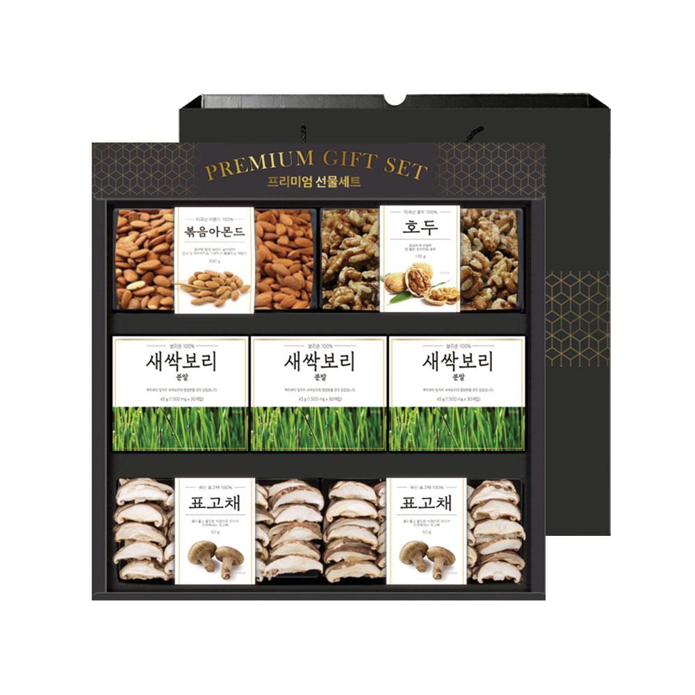 프리미엄 버섯견과혼합 선물세트, 1세트