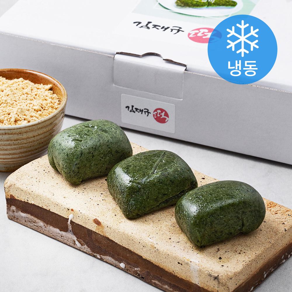 김재규우리떡연구소 명장 제주 쑥인절미 32개입 (냉동), 2240g, 1개