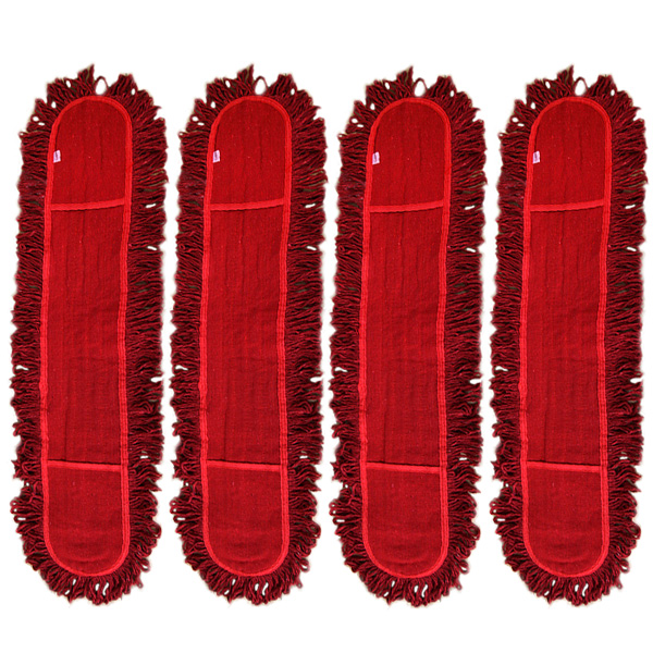 기름걸레 리필용 88.5 x 16 cm, 4개