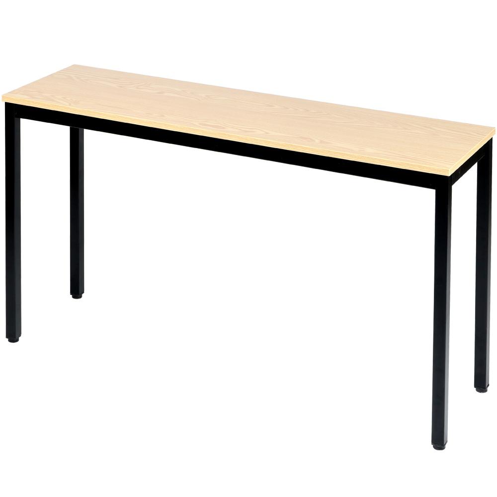 도리퍼니처 하모니 블랙 다용도 테이블, 내추럴