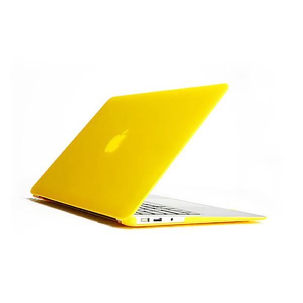 지모 맥북프로 15 2012 유광 파스텔 하드 케이스, 노란색