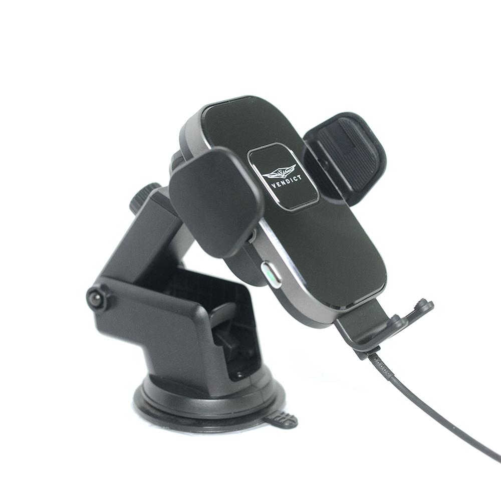 벤딕트 차량용 고속 무선 충전 거치대 VDT-011, 1개 (POP 2033382938)