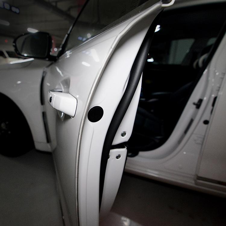 벤딕트 틈새 고무 몰딩 자동차 문콕 방지 10m, 투명, 1개