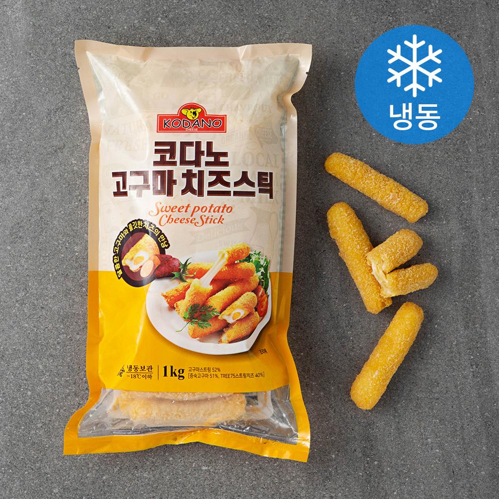 코다노 고구마 치즈스틱 (냉동), 1kg, 1개