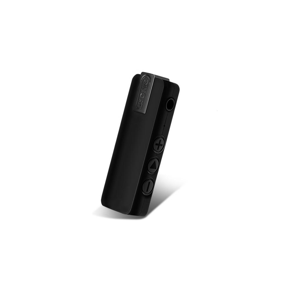 이소닉 초소형 원터치 녹음기 16GB, MR-120, 블랙