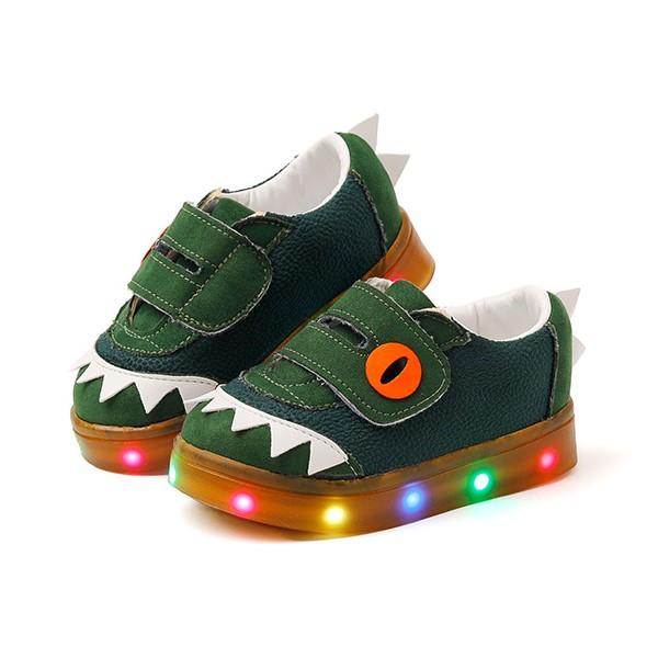 오즈키즈 아동용 랩터사우루스 LED 운동화