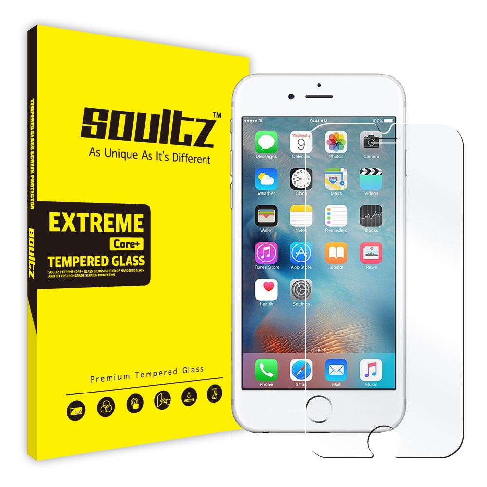 솔츠 방탄 강화유리 휴대폰 액정보호필름, 1개