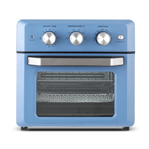 재원전자 스마트 에어프라이어 오븐 18L, FM1800(블루)