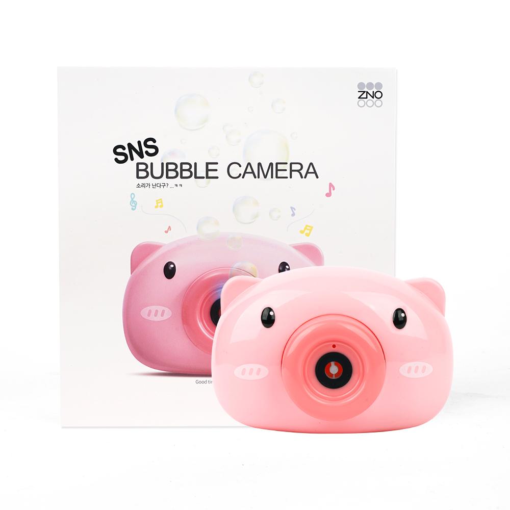 SNS 피그 버블 카메라, 핑크, 1개