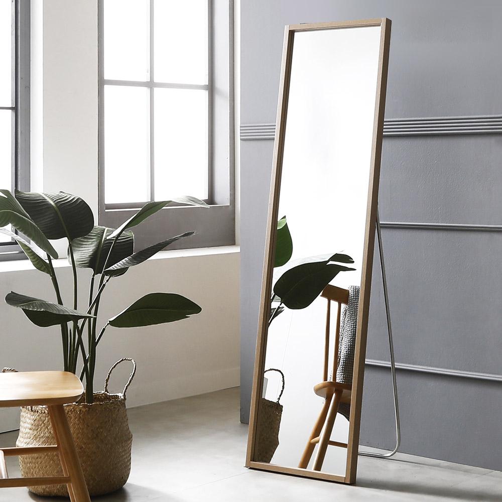 시그니쳐 전신거울 400 x 1500 mm, 메이플