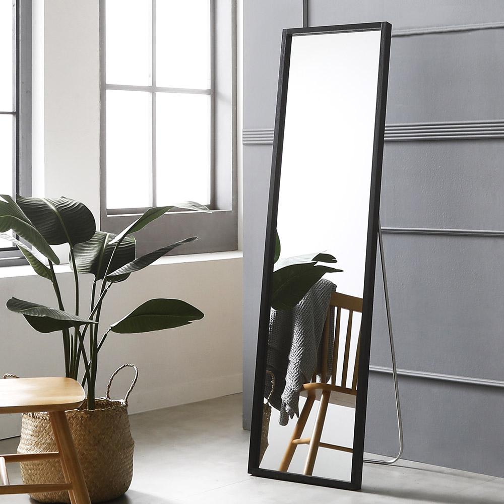 시그니쳐 전신거울 400 x 1500 mm, 블랙