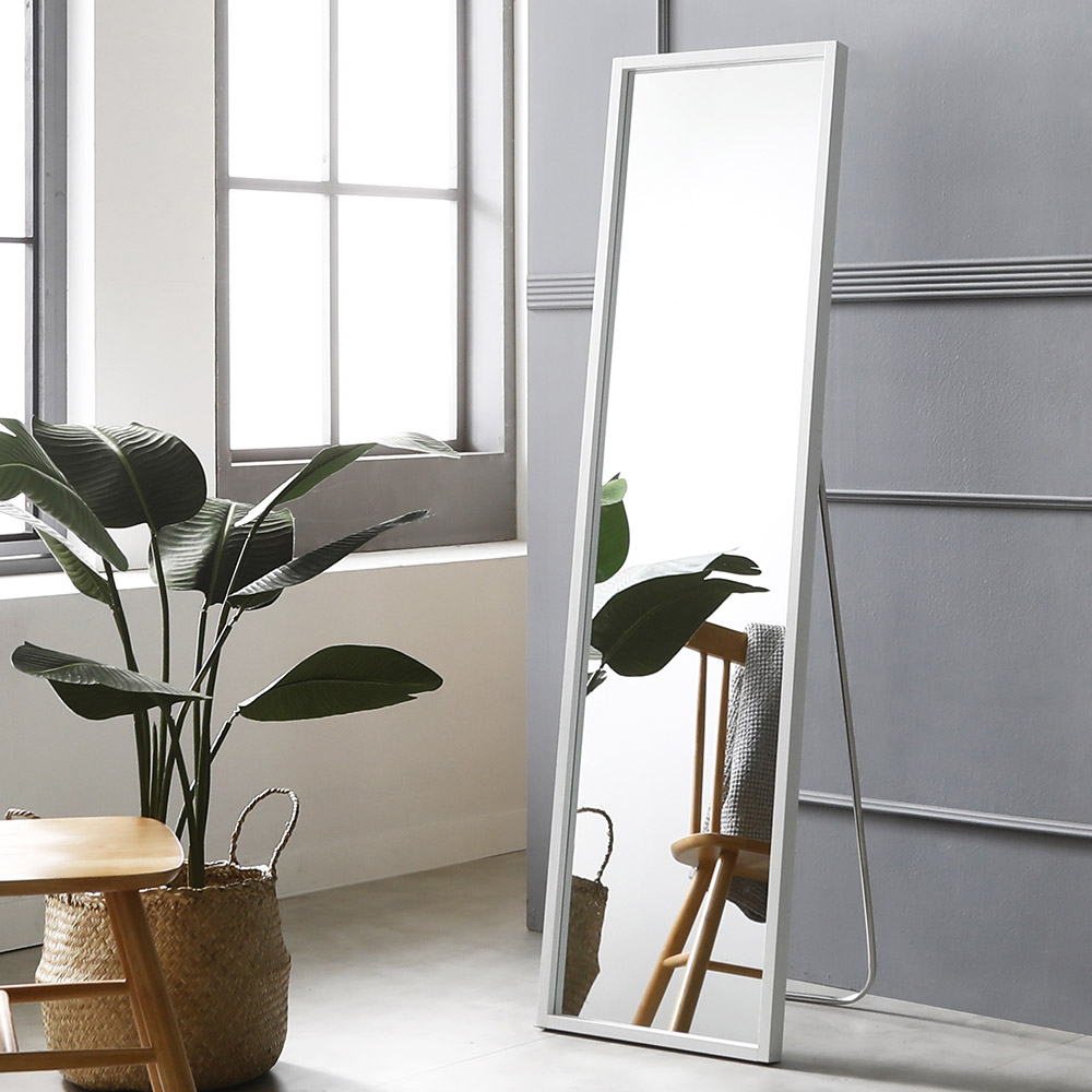 시그니쳐 전신거울 400 x 1500 mm, 화이트