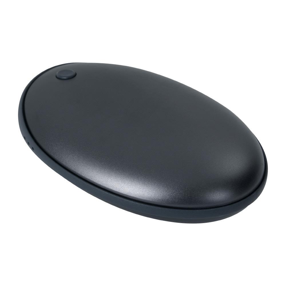 애니클리어 USB충전식 휴대용 손난로 보조배터리 5000mAh, PDB-HOT5, 다크블루