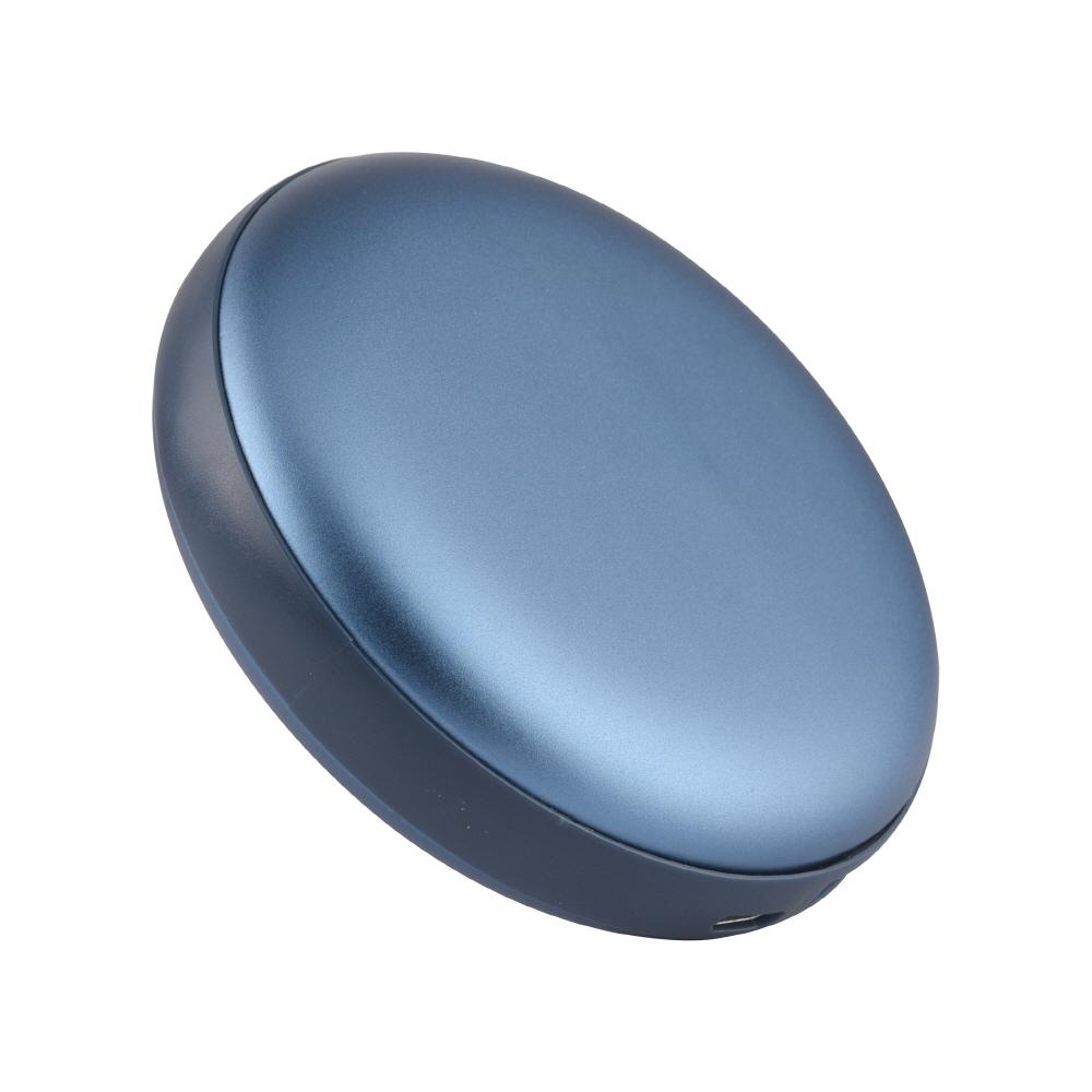 애니클리어 USB충전식 양면히팅 손난로 보조배터리 8000mAh 마이크로5핀, 블루, PDB-HOT8