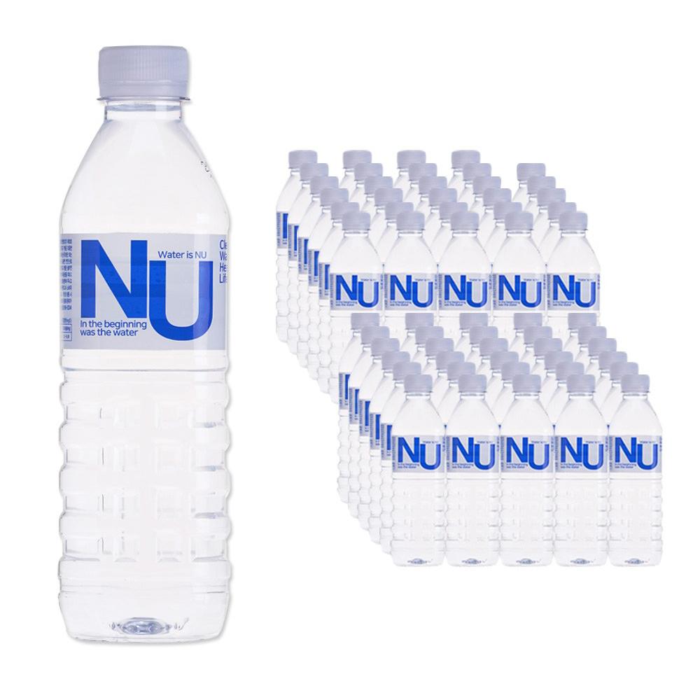 물은엔유 먹는 샘물 내추럴 미네랄 워터, 60개, 500ml