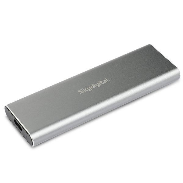 스카이디지탈 M.2 NVMe SSD USB 3.1 외장케이스 SKY-NMSE-1