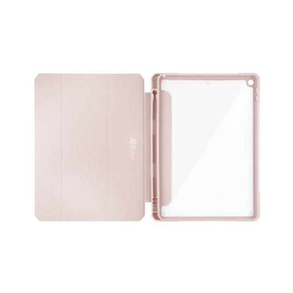 라이노 클리어쉴드 플러스 투명 태블릿 케이스, 핑크샌드