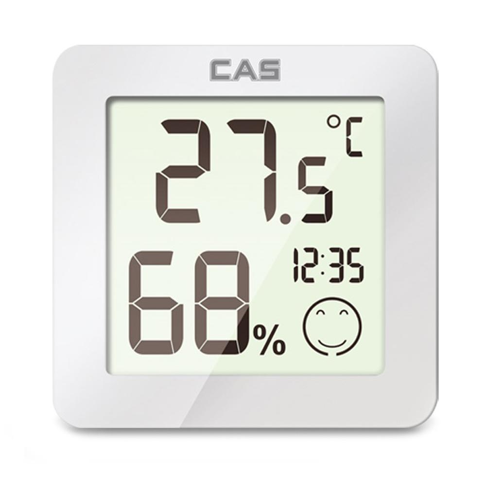 카스 디지털 온습도계 T023, 화이트