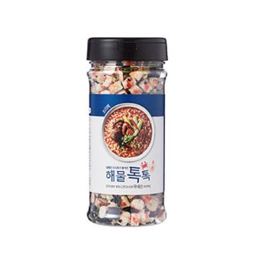 [김치톡톡] 맛침표 남해안 다시마가 들어간 해물톡톡, 100g, 1개 - 랭킹9위 (9900원)
