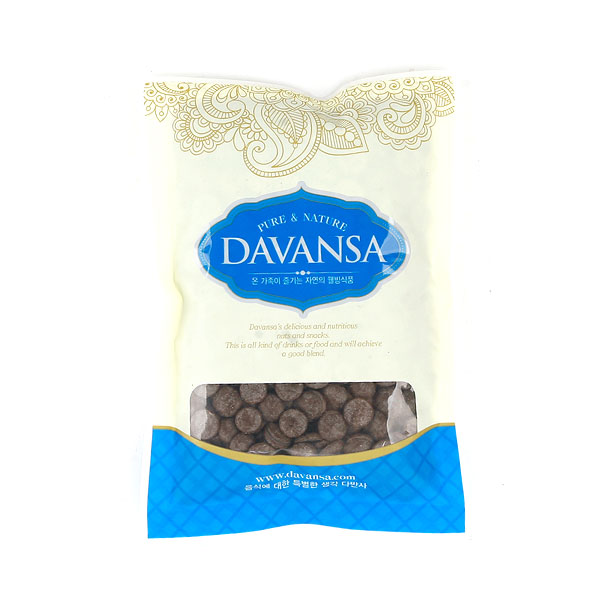 칼리바우트 다크 초콜릿, 250g, 1개