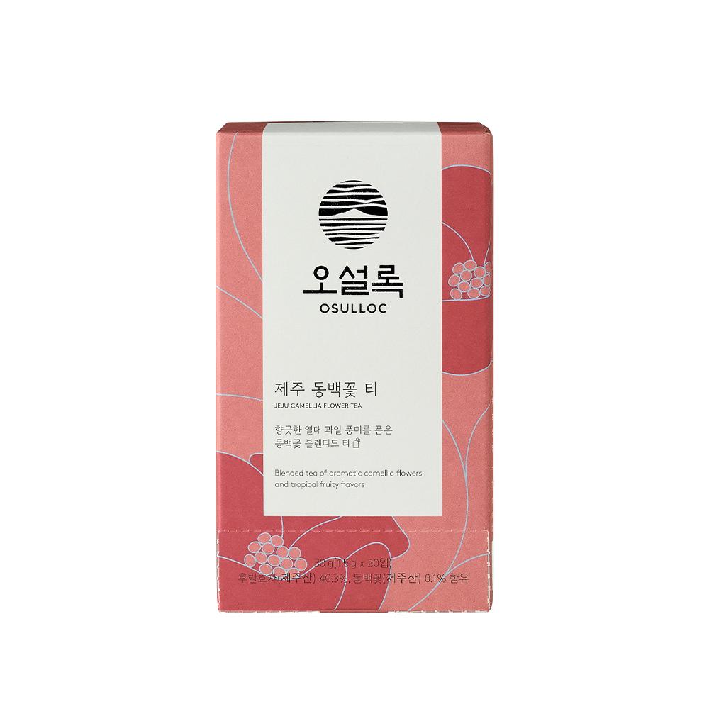 오설록 제주 동백꽃 티, 1.5g, 20개