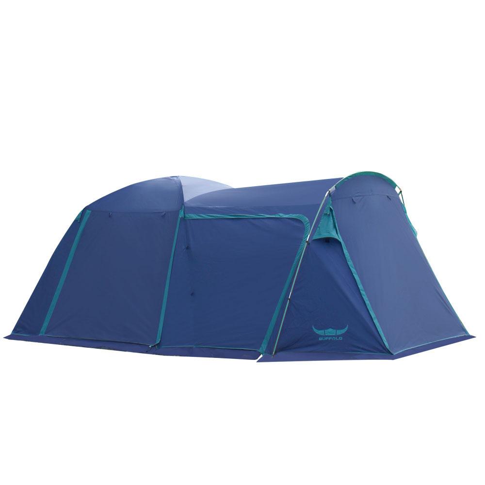 버팔로 클래식 와이드 돔 텐트 + 익스텐션 세트, 네이비