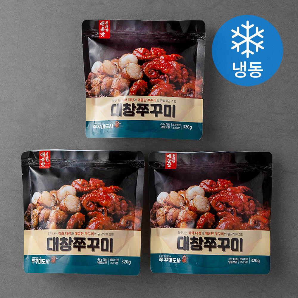 쭈꾸미도사 대창쭈꾸미 (냉동), 320g, 3팩