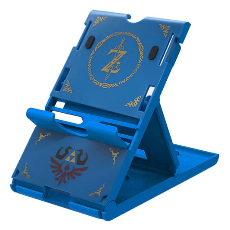 닌텐도 스위치 전용 젤다의 전설 3단 접이식 스탠드, 없음, 블루