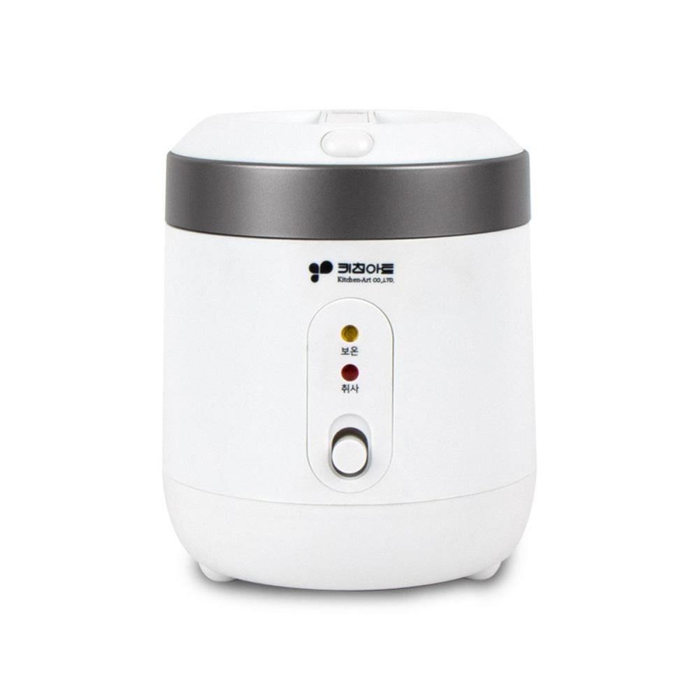 키친아트 미니 전기 밥솥 1~2인용, KRC-1004