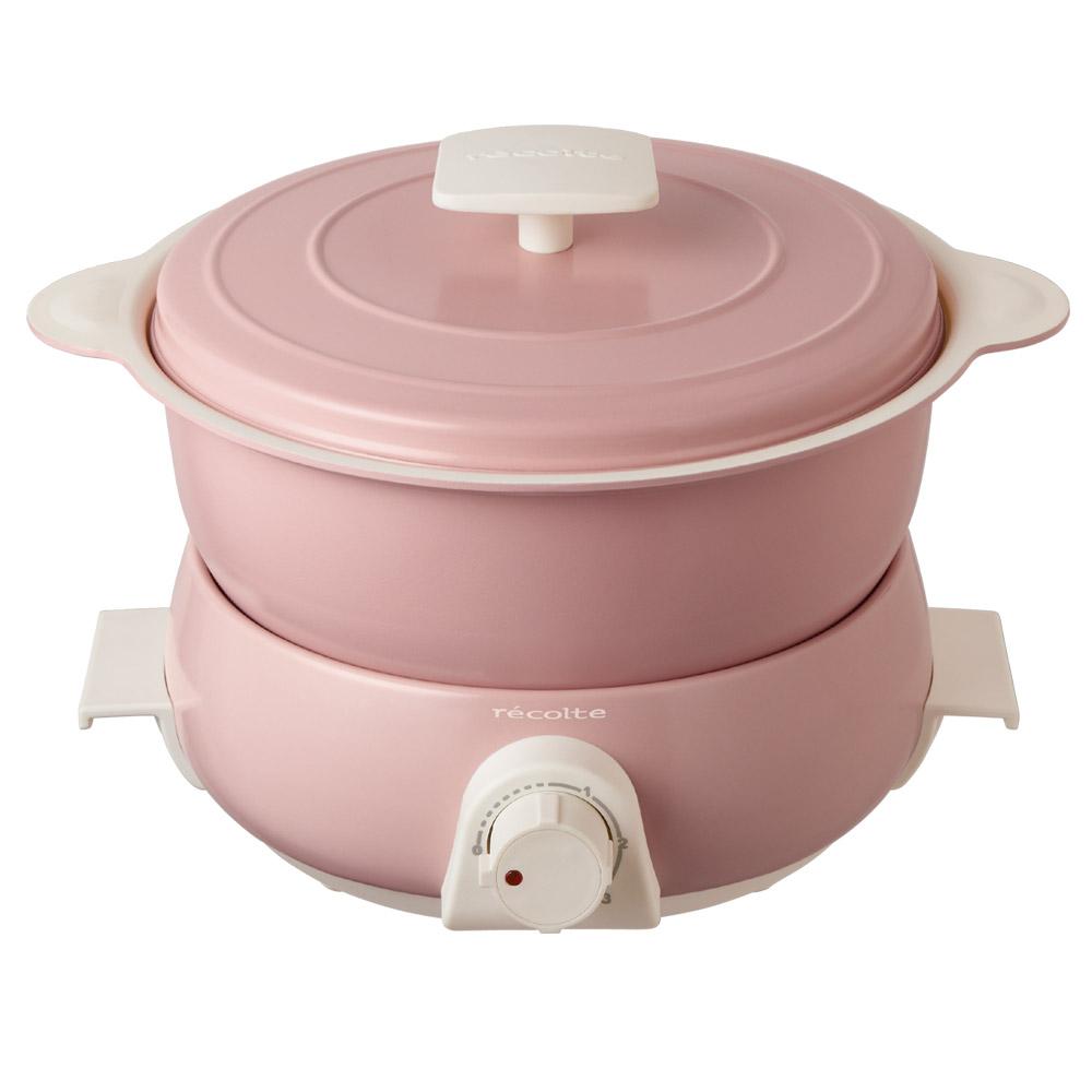 레꼴뜨 팟듀오 페테 전기냄비, RPD-3(핑크)