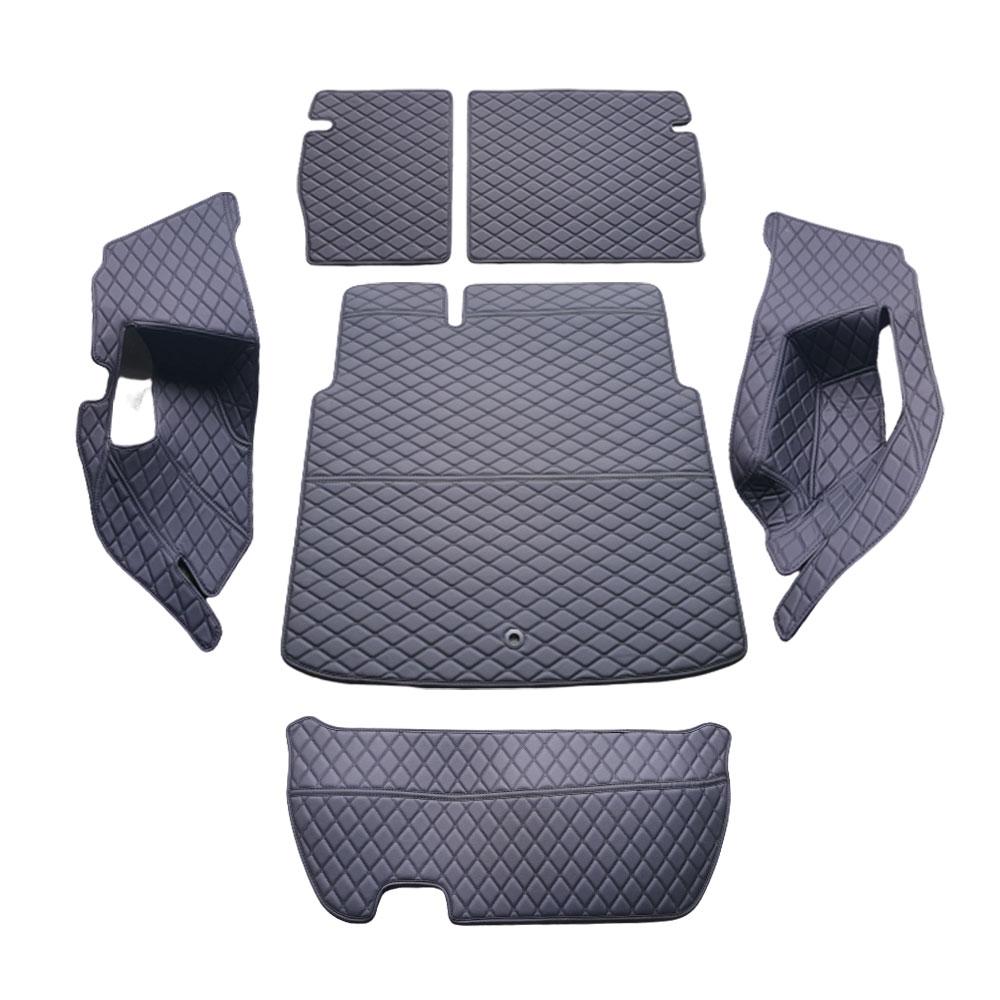 차팡 싱글 트렁크 플로어 차량용카매트 풀세트 블랙 / 블랙, 르노삼성, XM3