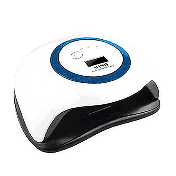 미소 UV LED 젤네일 램프 168W, 블루, 1개