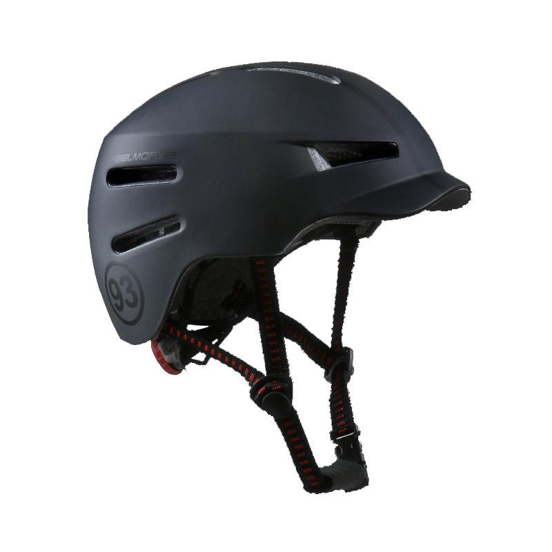 필모리스 어반 자전거 헬멧 F-581 MINI, 매트다크블랙