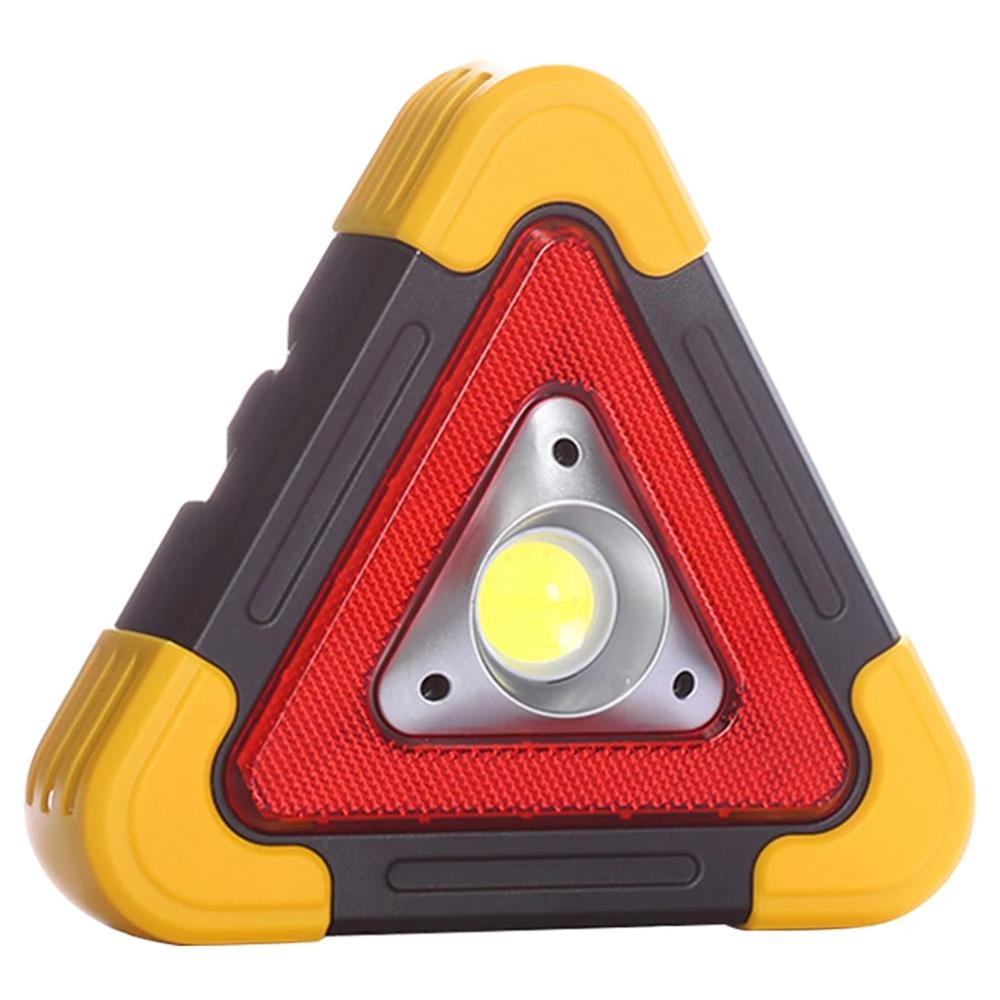 COB LED 다용도 안전삼각 작업등 HB-6609, 1개