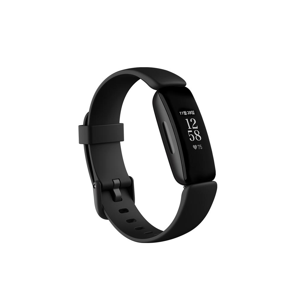 핏빗 인스파이어2 스마트밴드, FB418BKBK-FRCJK, 블랙