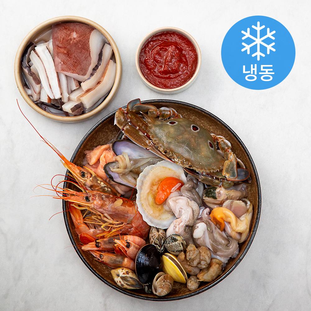 현이푸드빌 해물탕 1.5kg (냉동), 1팩