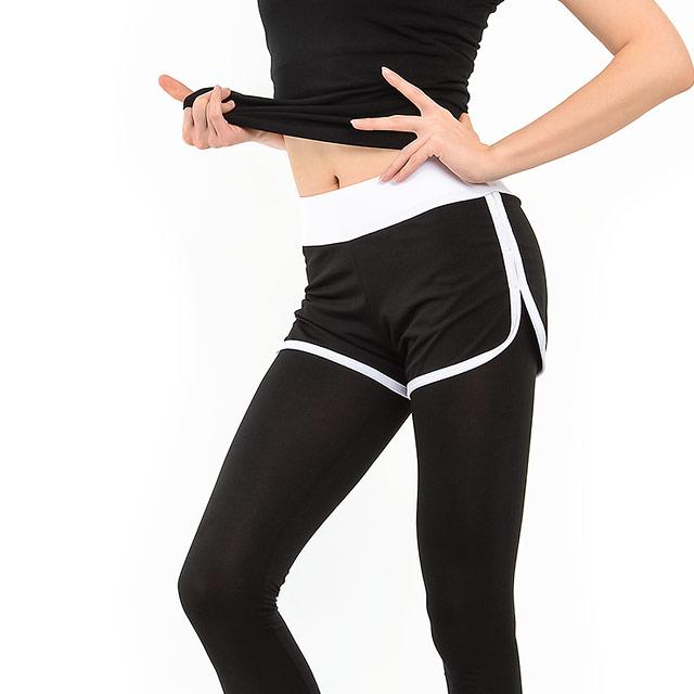 여성용 투라인 스포츠 반바지 레깅스 LKYE9022-2-2105453363
