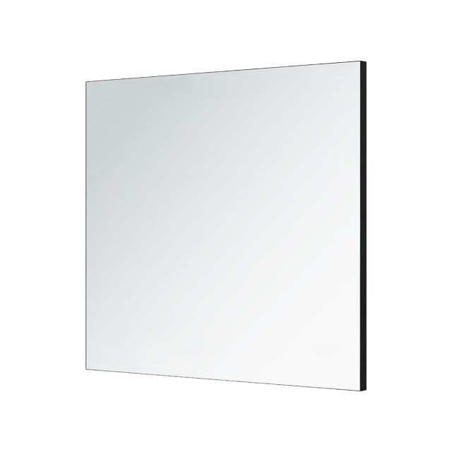 알루미늄 누드블랙 프레임 거울 800 x 800 mm, 혼합색상