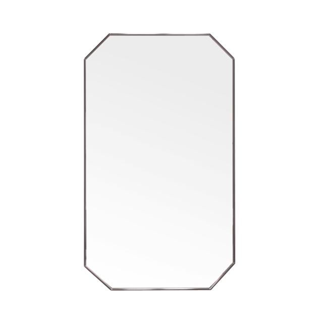 팔각 프레임 거울 600 x 1000 mm, 흑니켈