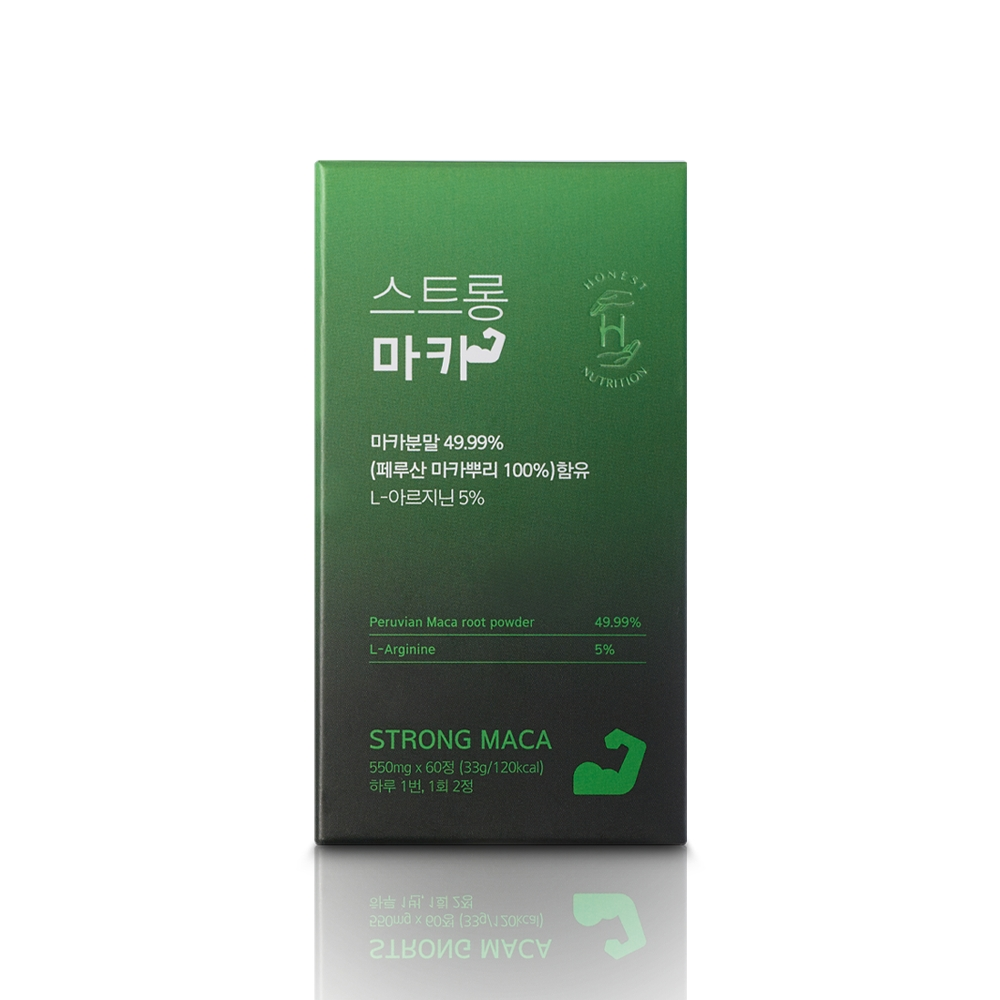 어니스트뉴트리션 스트롱 마카, 60정, 1개