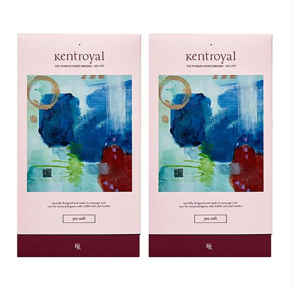 켄트로얄 칫솔 프로소프트, 4개입, 2세트