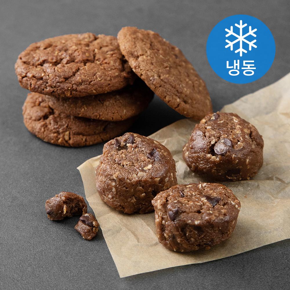 끼니엔갓빵 더블초코칩 쿠키도우 (냉동), 42g, 21개