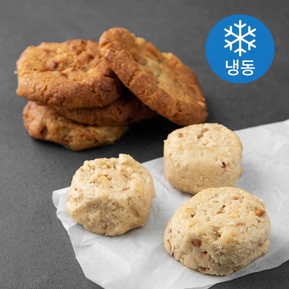 끼니엔갓빵 피넛칩 쿠키도우 (냉동), 42g, 21개