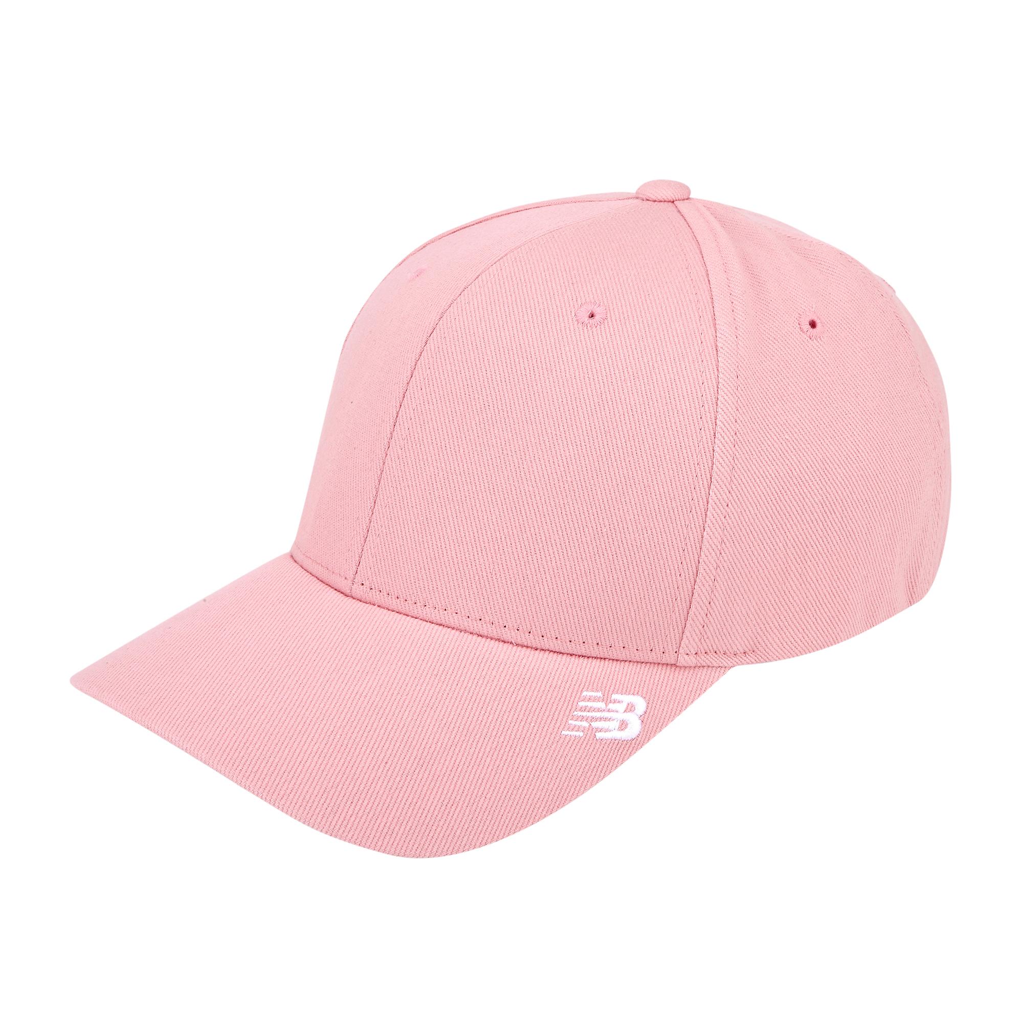 뉴발란스 사이드 로고 캡 NBGD9F0104-00, Pink