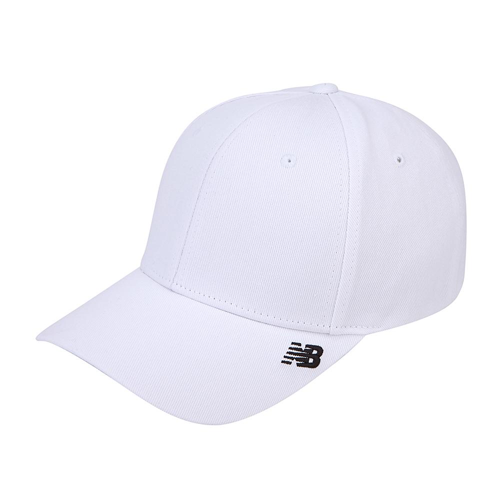 뉴발란스 사이드 로고 캡 NBGD9F0104-00, White