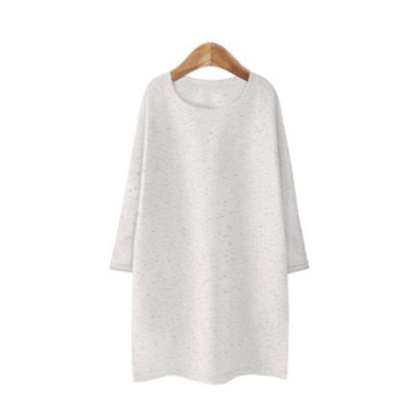 블론디 여성용 심플 특양면 7부 티셔츠