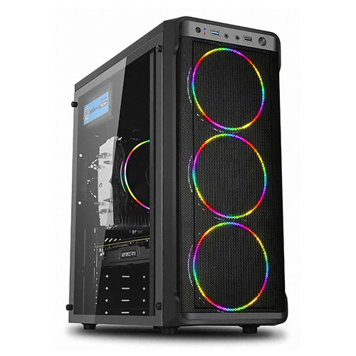 포유 홈 오피스 데스크탑 20200903 (펜티엄 골드 G5420 WIN10 Home RAM 4GB SSD 240GB), 기본형