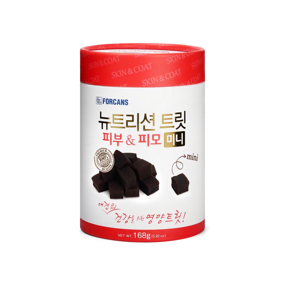 포켄스 강아지 영양제 뉴트리션 트릿 미니, 피부&피모, 1개