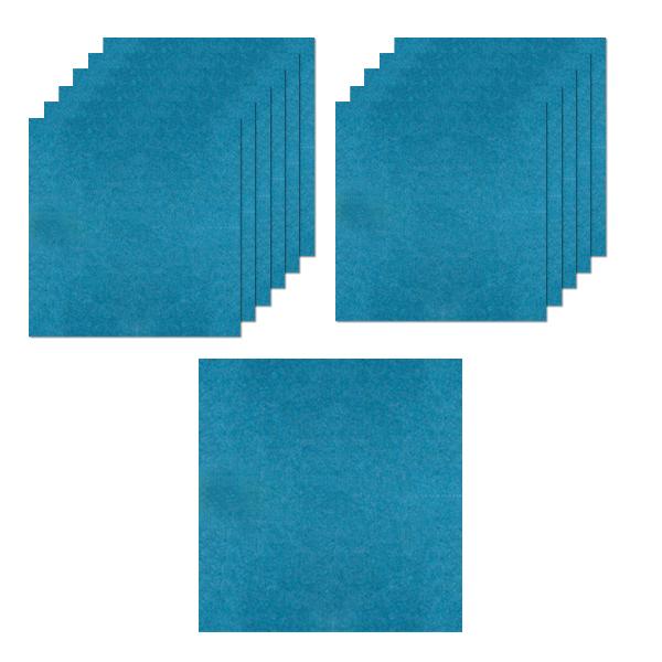 방염 셀프 방음보드, 블루, 12개